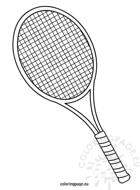 tennis made easy and of mind and books tennis racket coloring page