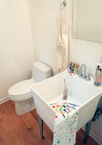 bathroom utility sink happy parents guide utility sinks handmade