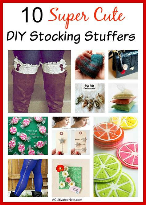 cute stocking stuffers 10 diy stocking stuffers diy stockings stocking