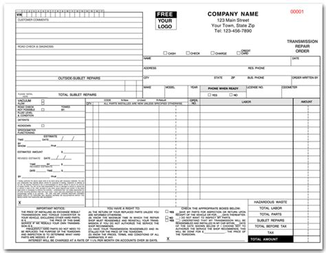 nissan car parts receipt template multipart change forms