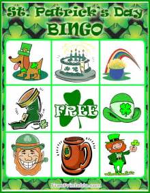 play shamrock bingo alzheimersactivitiesplus