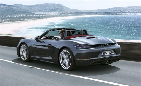 porsche boxster 2016 porsche 718 boxster on sale in australia from