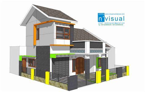 desain interior rumah minimalis type  contoh gambar rumah
