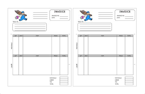 painting receipts template 14 contractor receipt templates doc pdf free