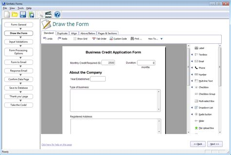 design form jquery php form builder with jquery support on your desktop