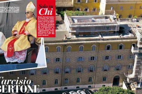 cardinale bertone appartamento la foto maxi attico cardinal bertone tra le mura