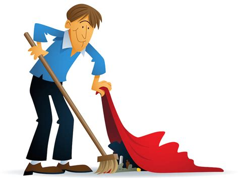 swept the rug employee fraud likely swept the carpet accounting weekly