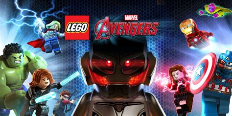 lego marvel avengers wii  games nintendo