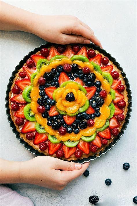 fruit pizza quot fruit pizza quot cheesecake tart chelsea s apron