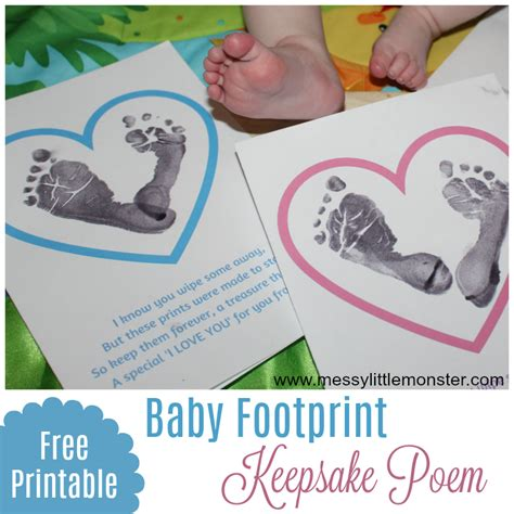 baby footprint poems  printable footprint quotes