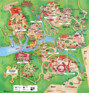 busch gardens florida map theme park brochures busch gardens the country