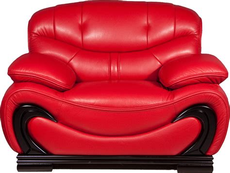 the red armchair furniture png images free download
