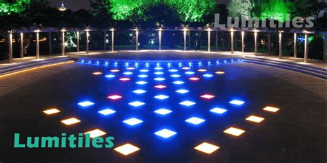 Led Tile Light Project Park Lumitiles Led Tile Lights Led Lights Projects