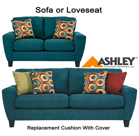 ashley furniture couch cushion replacement ashley 174 sagen replacement cushion cover 9390238 sofa or