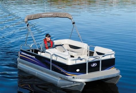electric pontoon boat reviews 2011 princecraft brio 15 17 electric pontoon pontoon boat