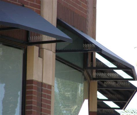 steel awning steel awnings