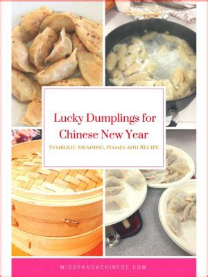 new year food symbolism dumplings lucky dumplings symbolic meaning names and recipe