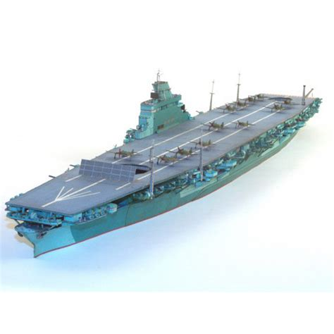 Papercraft Battleship - free shipping paper model ships japanese aircraft carrier