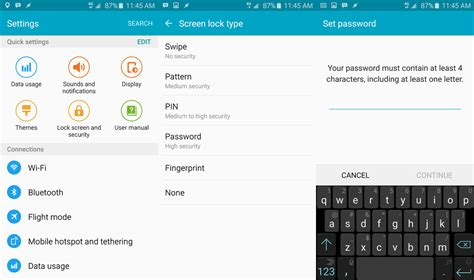 forgot my android password what to do if you forgot your samsung galaxy s6 lock screen password android central