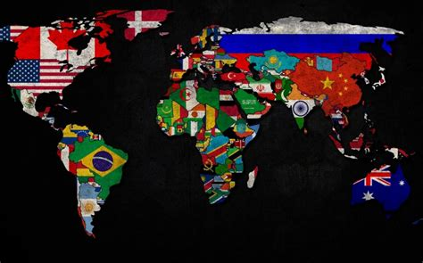 world map with countries flag world map country flag worldflag canvas