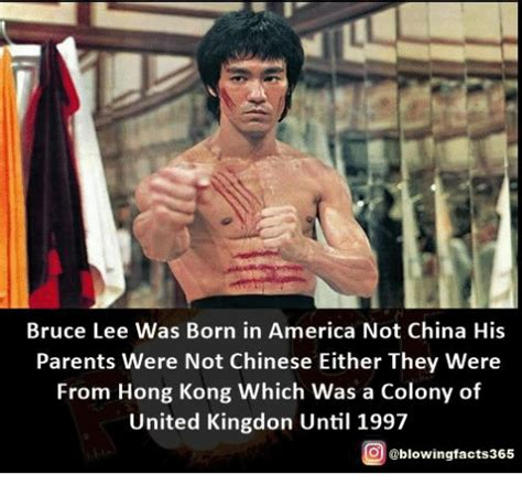 born bruce lee bruce lee was born in america not china his parents were