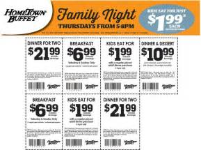 coupon for hometown buffet steward of savings hometown buffet 1 99 meal 6