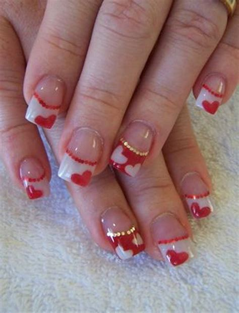 valentines day nail designs 50 s day nail ideas and design