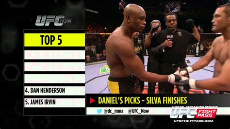 151 bet ufc now ep 202 top 5 silva finishes