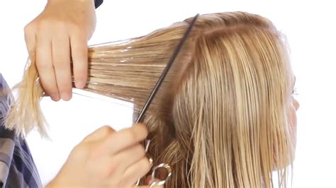 steps on how to cut a bob the best way to cut a bob wikihow