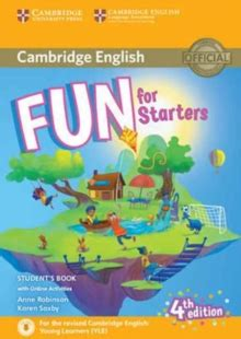 fun for starters student s book with online activities with audio anne robinson 9781316631911