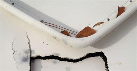 fiberglass boat deck repair small boat restoration fiberglass deck repair
