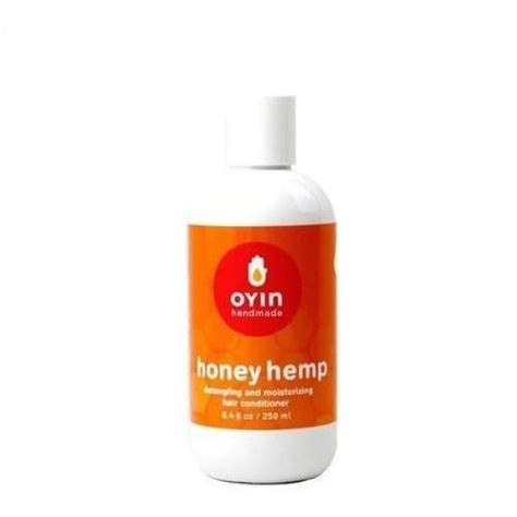 Oyin Handmade Honey Hemp - oyin handmade honey hemp conditioner 8 4 ounce