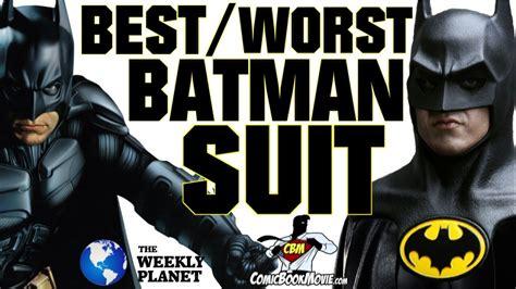 best batman the best worst batman suits