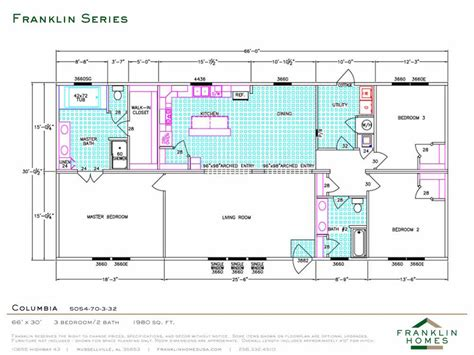 property floor plans modular homes floor plans franklin homes