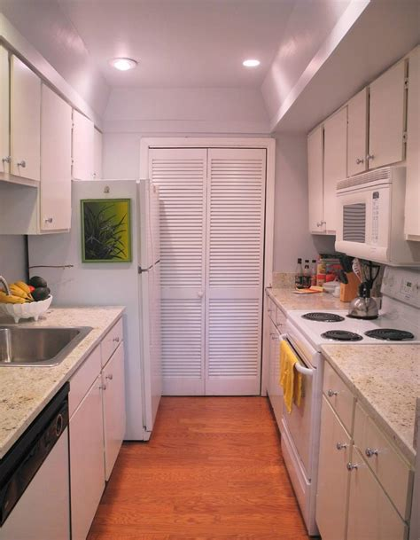 37 exles of galley kitchen lighting that looks