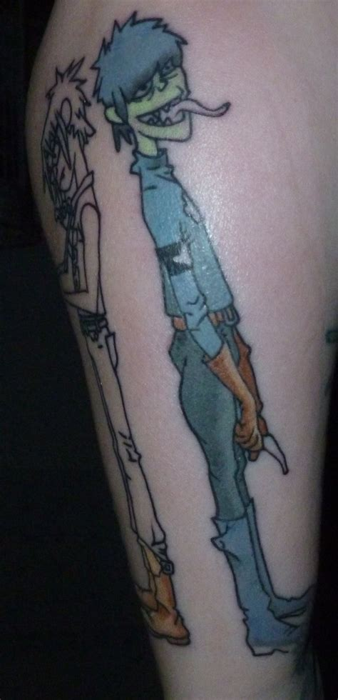 gorillaz tattoo 27 best gorillaz images on gorillaz