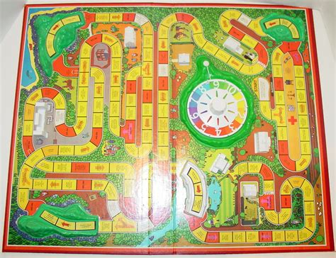 what s in that game box the game of life 1977