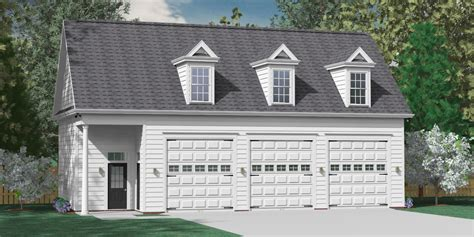 three car garage southern heritage home designs garage plan 2045 a