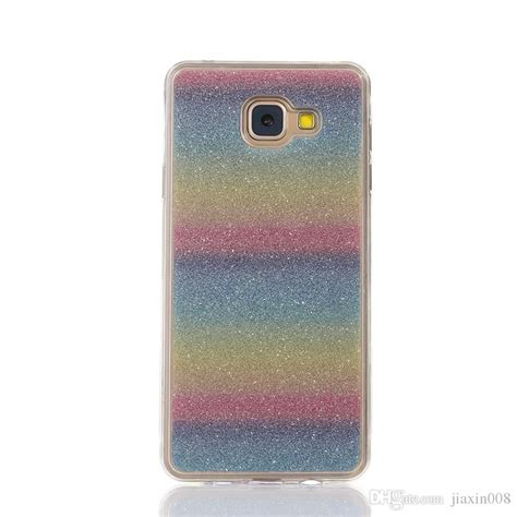 Samsung J7prime Softcase Gliter Gambar for samsung galaxy j7 prime on72016 cover fashion bling glitter gradient mobile phone soft