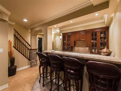 Kitchen Design With Basement Stairs Architectures Basic Basement Kitchen Along With Basement Stairs Between Charming Basement