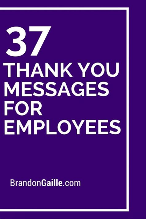 thank you letter to employees for gift 39 thank you messages for employees messages employee