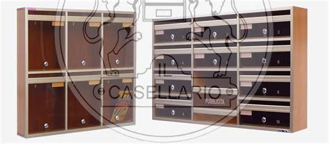 cassette postali in legno prezzi il casellario casellari postali bacheche e portavalori