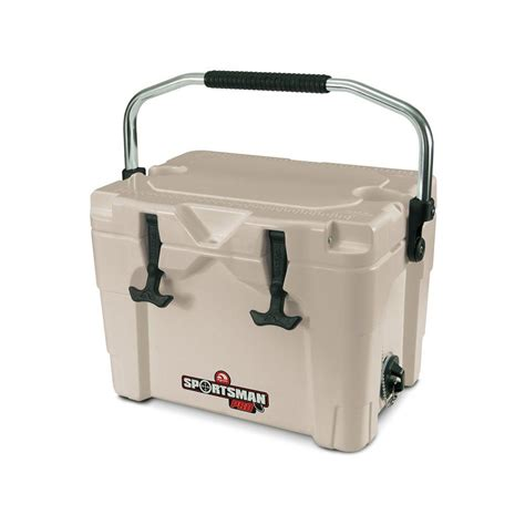 igloo sportsman 20 qt built in cup holders cooler