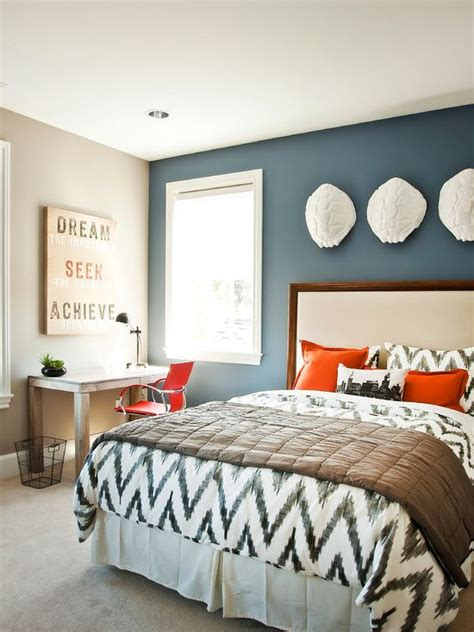 bedroom captivating boys bedrooms paint color ideas with motif pillows and beige fur carpet