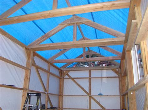 Rafters For Shed Roof by Shed Building
