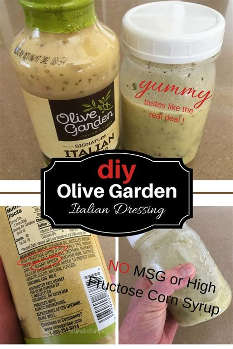 Olive Garden Dairy Free by 25 Best Ideas About Olive Garden Italian Dressing On