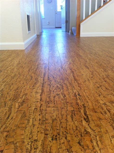 cork floor contemporary hardwood flooring denver