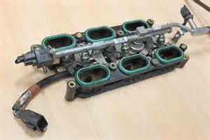 Jaguar X Type Injectors Inlet Manifold Lower Fuel Injector Rail Jaguar Xj6 X350 S