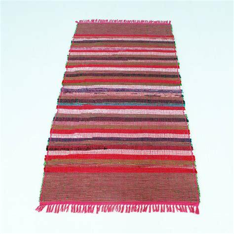 recycled rag rug handmade recycled rag rug by paper high notonthehighstreet