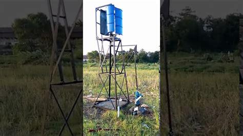 Pompa Air Vertikal kincir angin vertikal untuk pompa air